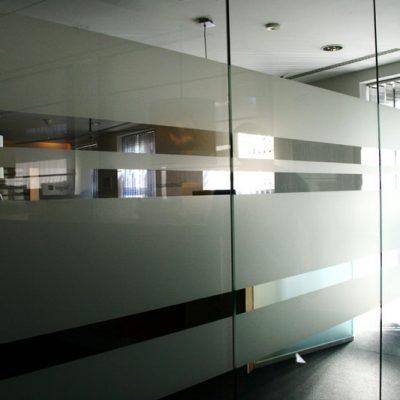 Glastrennwände